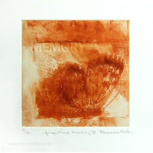 Eleanora Hofer 2, South Africa, Fugitive Memory V, Solar Etching + Blind Embossing, 2012