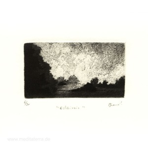 Pascale Braud 1, France, Éclaircie, Aquatinte And Etching, 2000,