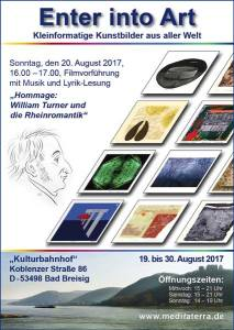 miniprint exhibitions germany bad breisig poster