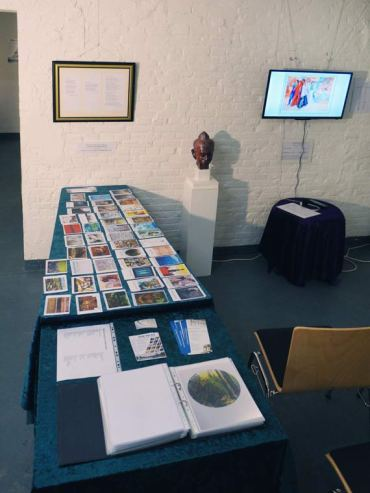"""Info photos of the artworks for """"Touring the World through Art"""""""