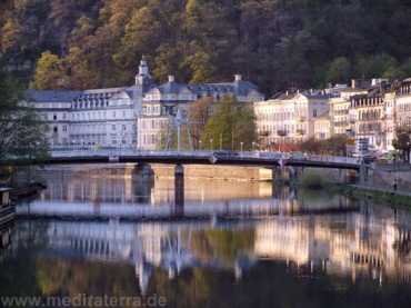 Bad Ems on the river Lahn