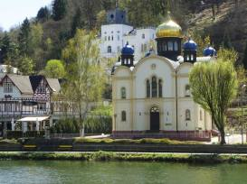 Russian Church in Bad Ems - even Fyodor Dostoevsky visited Bad Ems