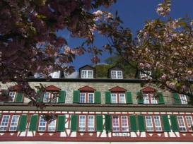 One of the hotels in Bad Ems