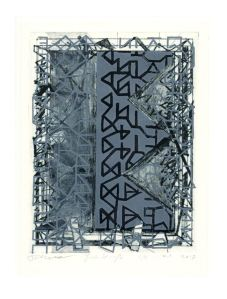 Josée Wuyts + Frans de Groot 3, The Netherlands, Factory, 2017, Etching, Dry point, 23,5 x 18 cm